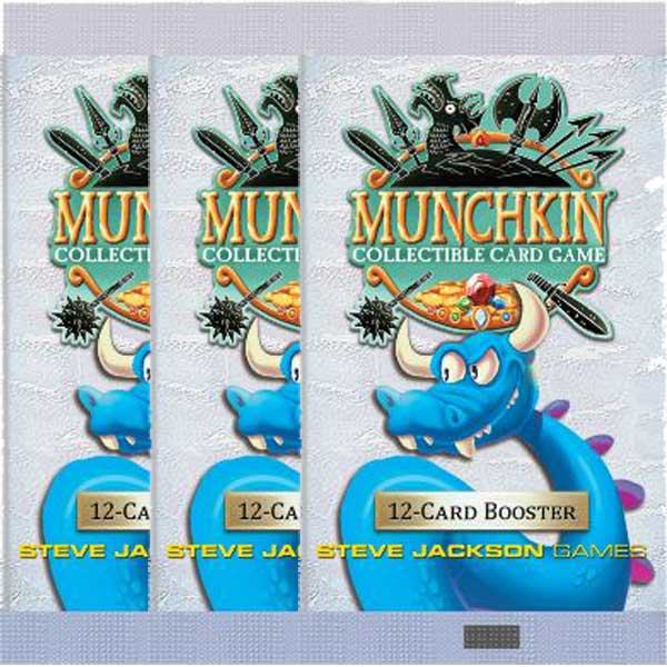 Munchkin CCG, 3 Boosters