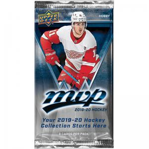 1 Pack 2019-20 Upper Deck MVP Hobby