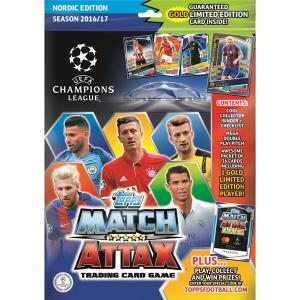 Startpaket, Nordic Edition Champions League Topps Match Attax 2016-17