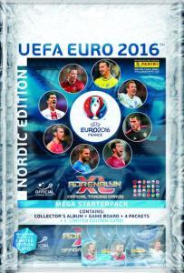 1st Mega Startpaket Nordic Edition Panini Adrenalyn XL Euro 2016