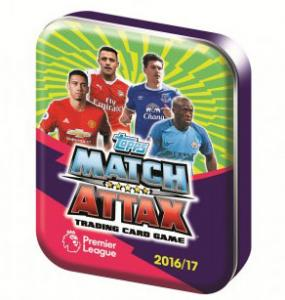 Nordic Ed. Pocket Tin, 2016-17 Match Attax Premier League