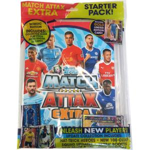 Extra: Nordic Ed. Starter pack, 2016-17 Match Attax Premier League Extra