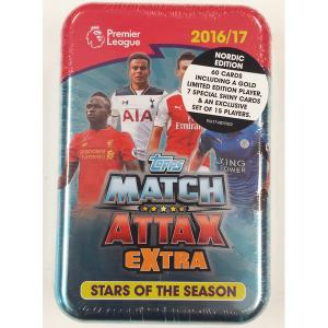 Extra: Nordic Ed. Mega Tin (Stars of the season), 2016-17 Match Attax Premier League Extra
