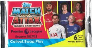 Nordic Ed. Pack, 2017-18 Match Attax Premier League