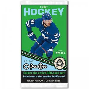 1st Paket 2019-20 Upper Deck O-Pee-Chee Hobby