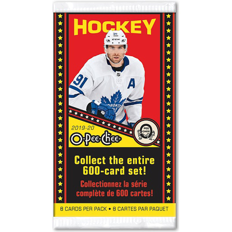 1 Pack 2019-20 Upper Deck O-Pee-Chee Retail
