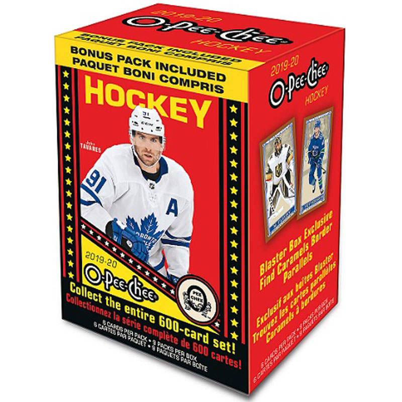 Sealed Blaster Box 2019-20 Upper Deck O-Pee-Chee Retail
