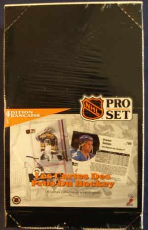 Hel Box 1991-92 Pro-Set s.1, Fransk