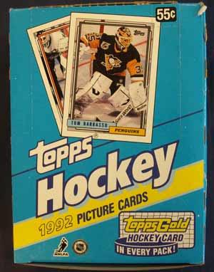 Sealed box 1992-93 Topps