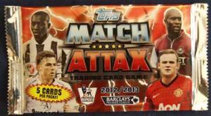 1st Paket Topps Match Attax Premier League 2012-13