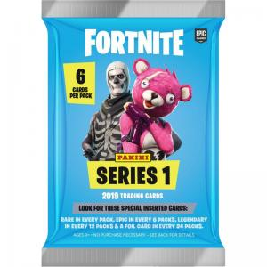 1 Pack (6 cards) 2019 Panini Fortnite Trading Cards Series 1