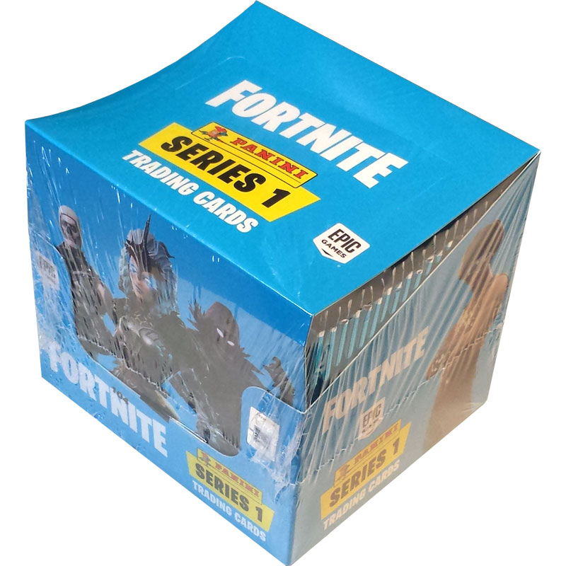 1 Box (48 paket) 2019 Panini Fortnite Trading Cards Serie 1