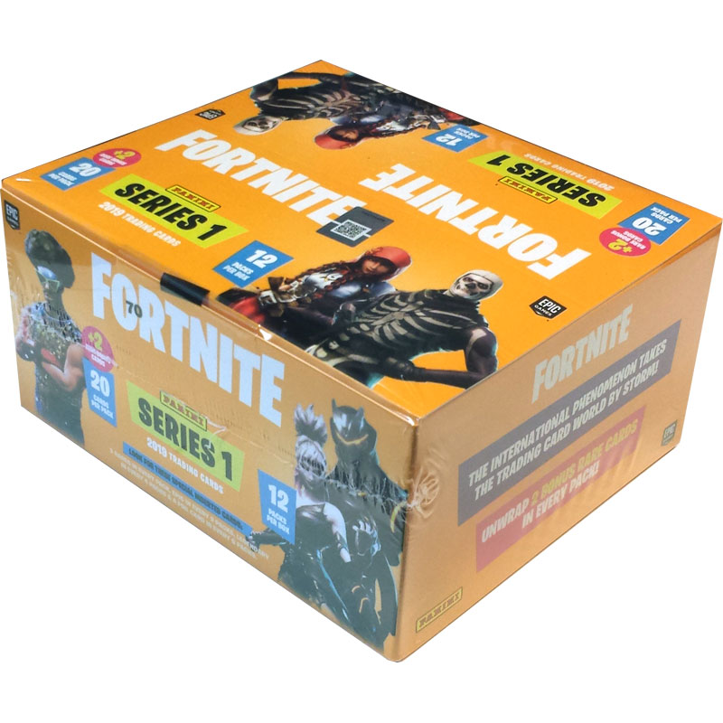 1 Value Pack / Fat Pack Box (12 paket) 2019 Panini Fortnite Trading Cards Serie 1