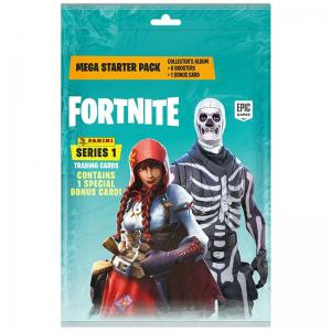 Mega Starter Pack 2019 Panini Fortnite Trading Cards Series 1