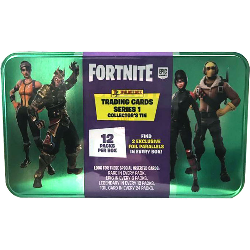 Mega Tin 2019 Panini Fortnite Trading Cards Serie 1