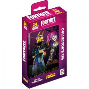 1 Pocket Tin (24 cards) 2020 Panini Fortnite Trading Cards Reloaded (Series 2)