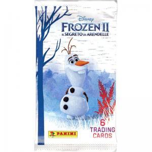 1st Paket (6 kort) Panini Frozen II / Frost 2 Trading Cards (2019)