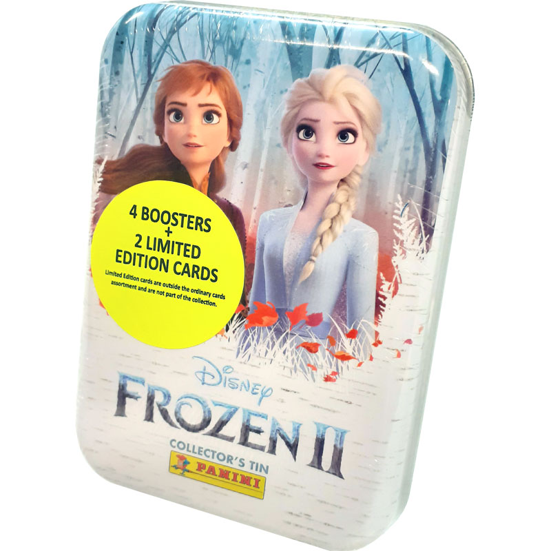 Pocket Tin (26 kort) Panini Frozen II / Frost 2 Trading Cards (2019)