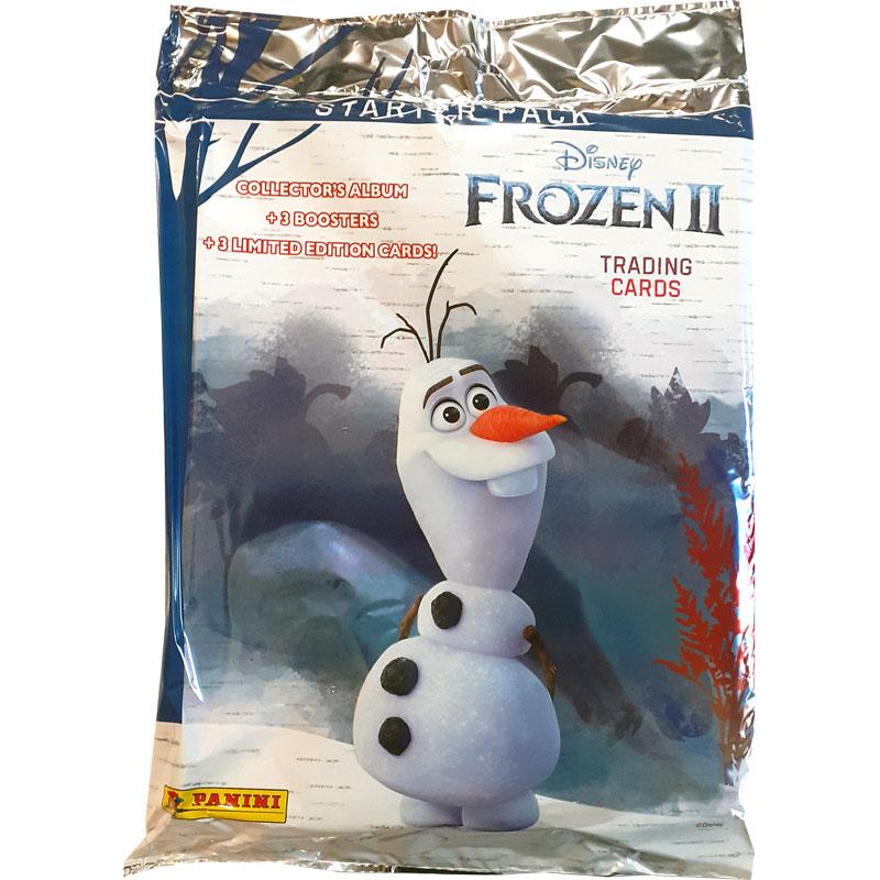 Starter Pack (Pärm & kort) Panini Frozen II / Frost 2 Trading Cards (2019)