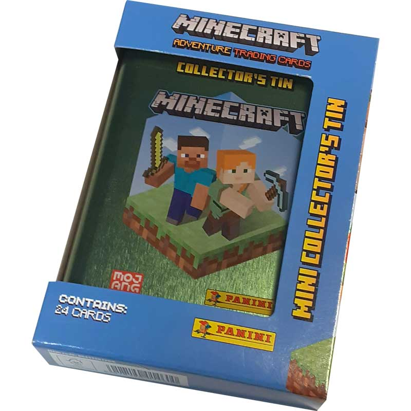Minecraft Adventure Trading Cards (Panini), Mini Tin