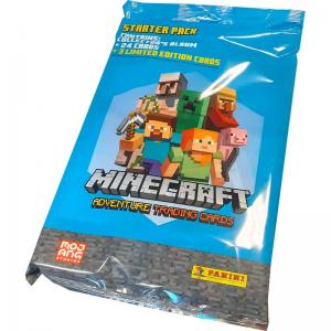Minecraft Adventure Trading Cards (Panini), Starter Pack