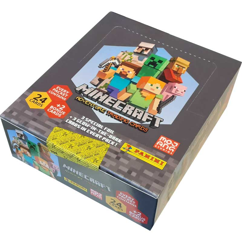 Minecraft Adventure Trading Cards (Panini), Premium Pack Box