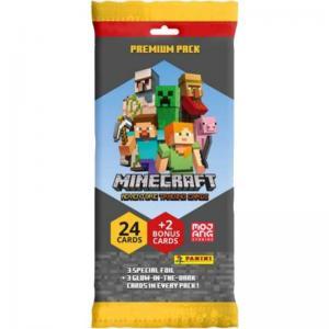 Minecraft Adventure Trading Cards (Panini), Premium Pack (24 + 2 kort)