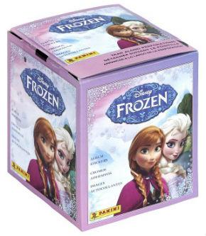Frost / Frozen, Panini Stickers / Klisterbilder, 1 Box (50 paket)