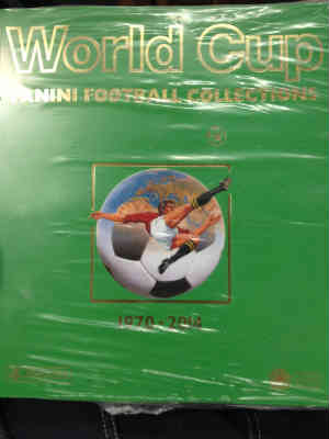 World Cup Panini Football Collections 1970-2014