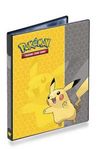 Pokemon, Portfoliopärm A5 (Rymmer 40 kort) Pikachu - 4 Pocket