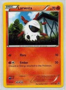 Pokémon, Plasma Blast, Larvesta - 12/101 - Common