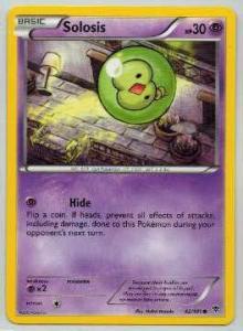 Pokémon, Plasma Blast, Solosis - 42/101 - Common