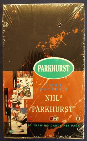 Sealed Box 1991-92 Parkhurst Series 1