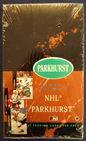 Sealed Box 1991-92 Parkhurst Series 1