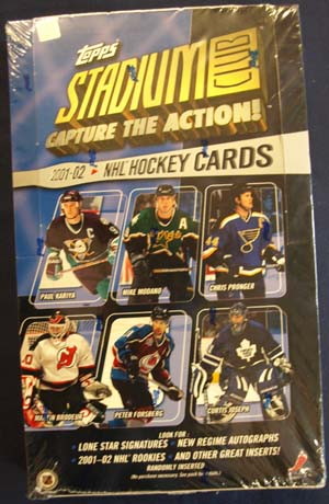 Hel Box 2001-02 Topps Stadium Club