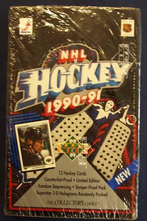 Hel Box 1990-91 Upper Deck (Low Series)