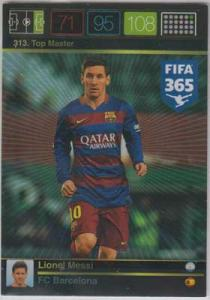 Top Master, 2015-16 Adrenalyn FIFA 365 #313 Lionel Messi