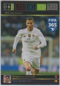 Top Master, 2015-16 Adrenalyn FIFA 365 #315 Cristiano Ronaldo