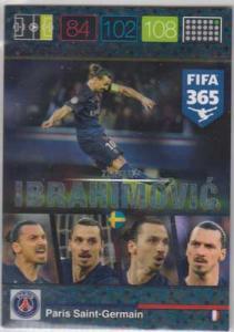Ibracadabra, 2015-16 Adrenalyn FIFA 365 #388 Zlatan Ibrahimovic