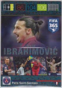 Ibracadabra, 2015-16 Adrenalyn FIFA 365 #389 Zlatan Ibrahimovic