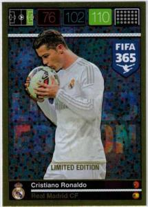 Limited Edition, 2015-16 Adrenalyn FIFA 365 Cristiano Ronaldo