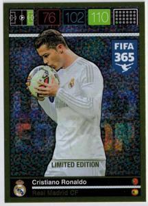 XXL Limited Edition, 2015-16 Adrenalyn FIFA 365 Cristiano Ronaldo XXL