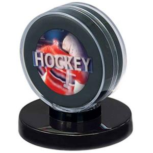 Black Base Puck Display - Puck ingår ej