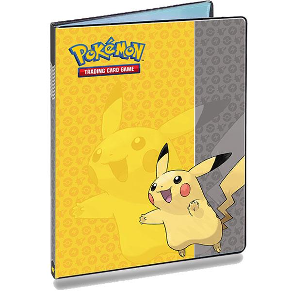 Pokémon, Portfoliopärm A4 (Rymmer 90 kort) Pikachu - 9 Pocket