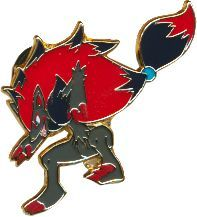 Pokemon Zoroark Pin