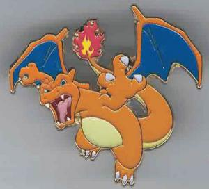 Pokémon, Pin, Charizard (Rytande)
