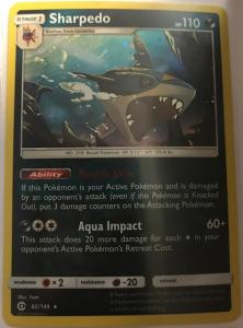 Pokemon Alternate Holo Promos Sharpedo – 82/149 - Alternate Holo Rare