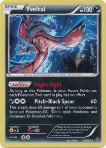 Pokemon Promo - Yveltal - 94/162 - Alternate Holo Promo
