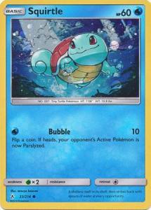 Pokemon S&M - Squirtle - 33/214 - Promo