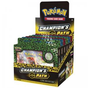 FÖRKÖP: Pokémon, Champion's Path, Pin Collection Display (6) (Hulbury, Turffield & Motostoke) (Preliminär release 25:e september 2020)